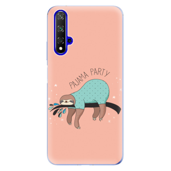 Odolné silikonové pouzdro iSaprio - Pajama Party - Huawei Honor 20