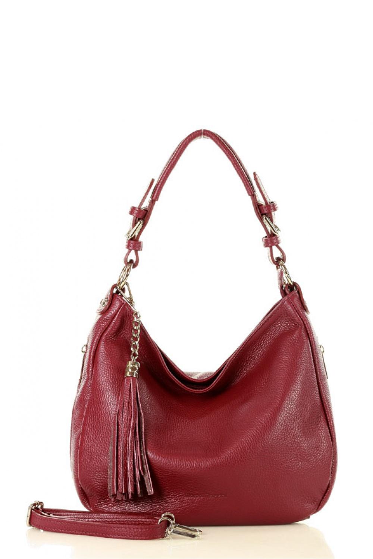 Přírodní kožená taška model 136454 Mazzini - UNI velikost