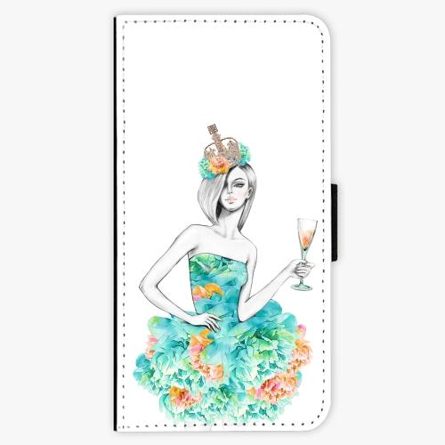 Flipové pouzdro iSaprio - Queen of Parties - iPhone 7 Plus