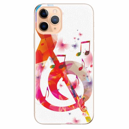 Silikonové pouzdro iSaprio - Love Music - iPhone 11 Pro