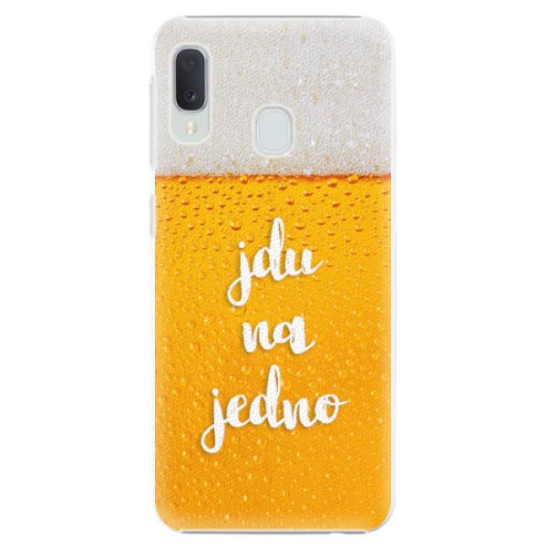 Plastové pouzdro iSaprio - Jdu na jedno - Samsung Galaxy A20e
