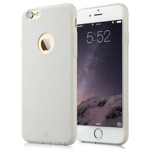 Pružný kryt / pouzdro Baseus Misu pro iPhone 6 / 6S šedý