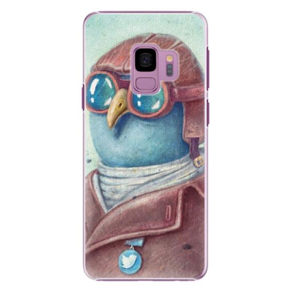 Plastové pouzdro iSaprio - Pilot twitter - Samsung Galaxy S9