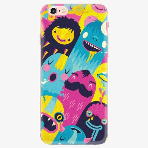 Silikonové pouzdro iSaprio - Monsters - iPhone 7