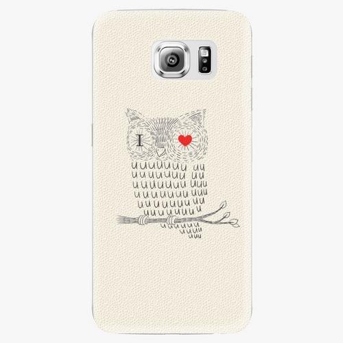 Plastový kryt iSaprio - I Love You 01 - Samsung Galaxy S6 Edge