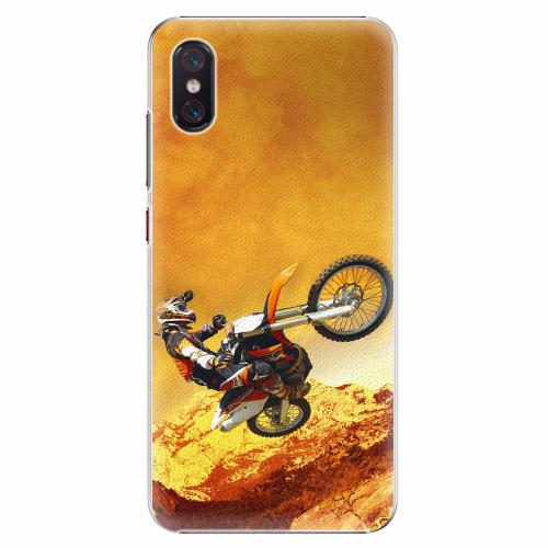 Plastový kryt iSaprio - Motocross - Xiaomi Mi 8 Pro