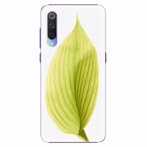 Plastový kryt iSaprio - Green Leaf - Xiaomi Mi 9