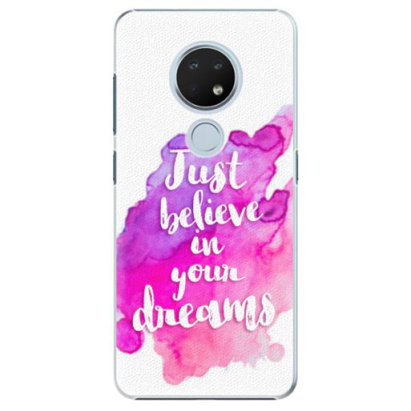 Plastové pouzdro iSaprio - Believe - Nokia 6.2