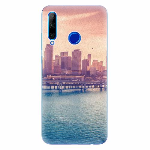 Silikonové pouzdro iSaprio - Morning in a City - Huawei Honor 20 Lite