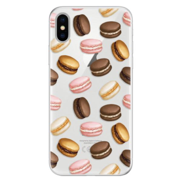 Silikonové pouzdro iSaprio - Macaron Pattern - iPhone X