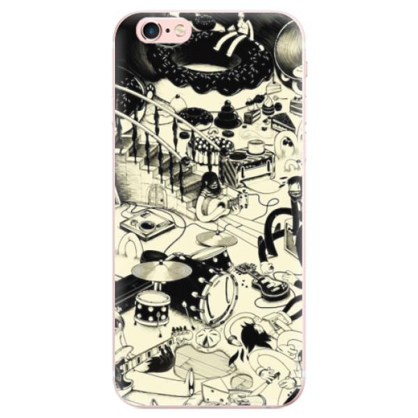Odolné silikonové pouzdro iSaprio - Underground - iPhone 6 Plus/6S Plus