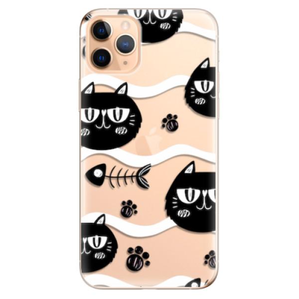 Odolné silikonové pouzdro iSaprio - Cat pattern 04 - iPhone 11 Pro Max