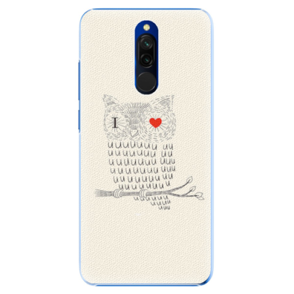 Plastové pouzdro iSaprio - I Love You 01 - Xiaomi Redmi 8