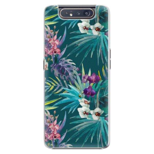 Plastové pouzdro iSaprio - Tropical Blue 01 - Samsung Galaxy A80