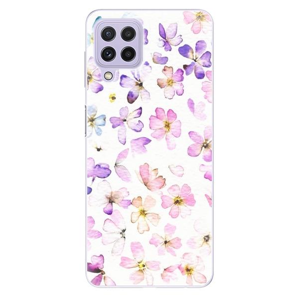 Odolné silikonové pouzdro iSaprio - Wildflowers - Samsung Galaxy A22
