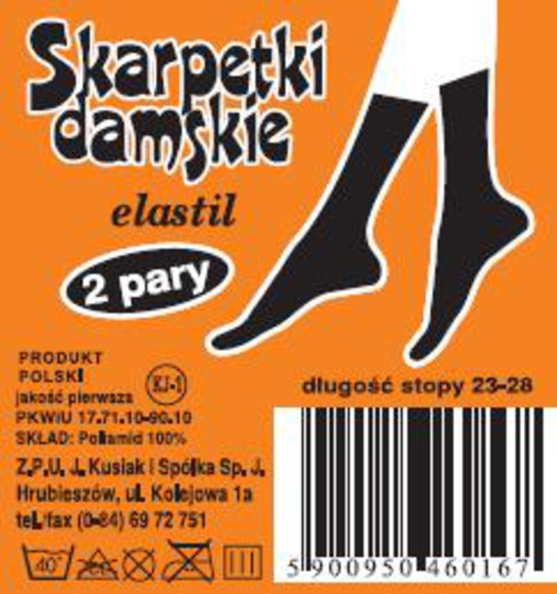 Dámské ponožky ELASTIL - Šedá