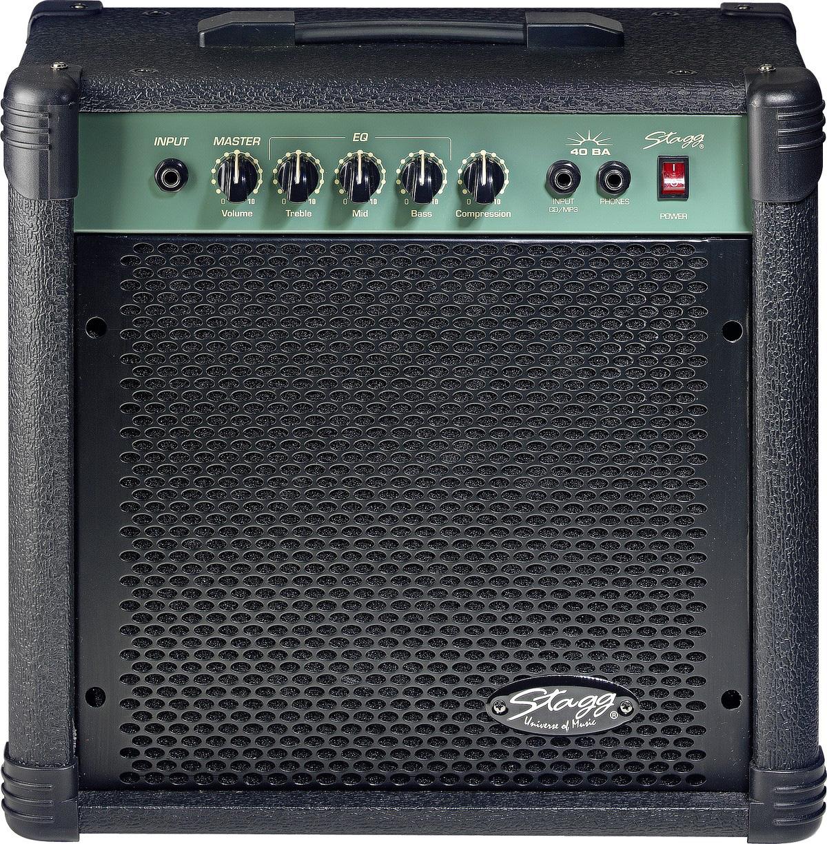 Stagg 40 BA, kombo pro elektrickou baskytaru, 40W