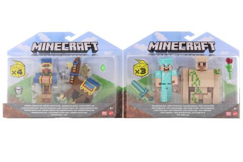 Minecraft 8 cm figurka dvojbalení asst GTT53