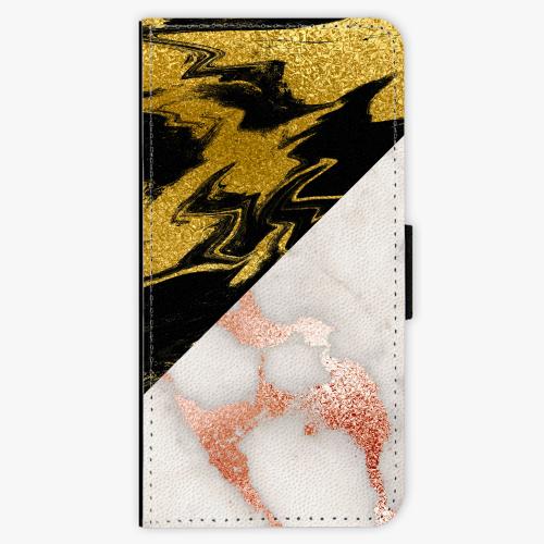 Flipové pouzdro iSaprio - Shining Marble - iPhone 8 Plus