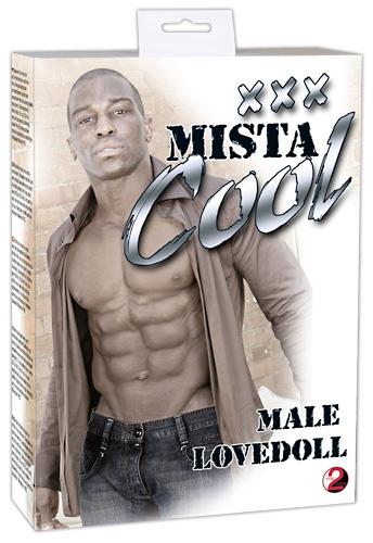 Nafukovací muž černoch XXX Mista Cool