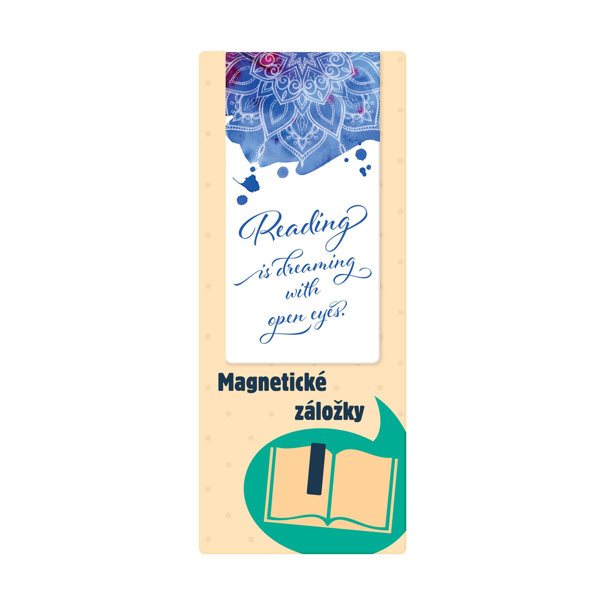 Magnetická záložka - Text