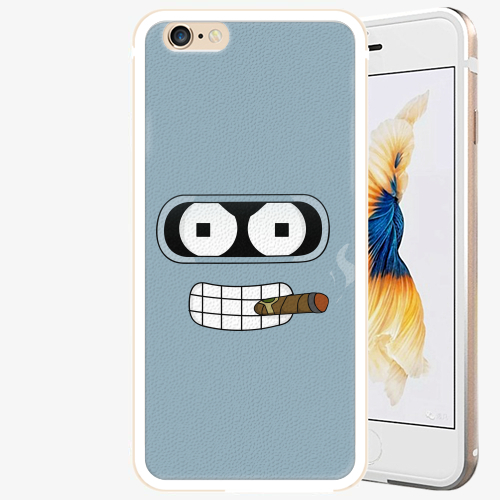 Plastový kryt iSaprio - Bender - iPhone 6 Plus/6S Plus - Gold