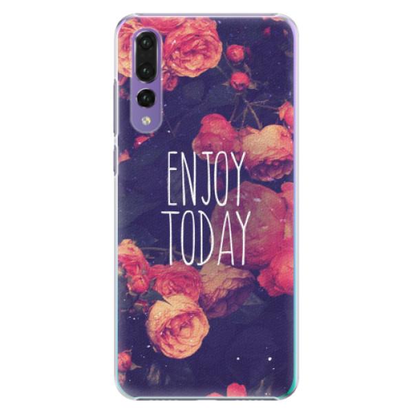 Plastové pouzdro iSaprio - Enjoy Today - Huawei P20 Pro