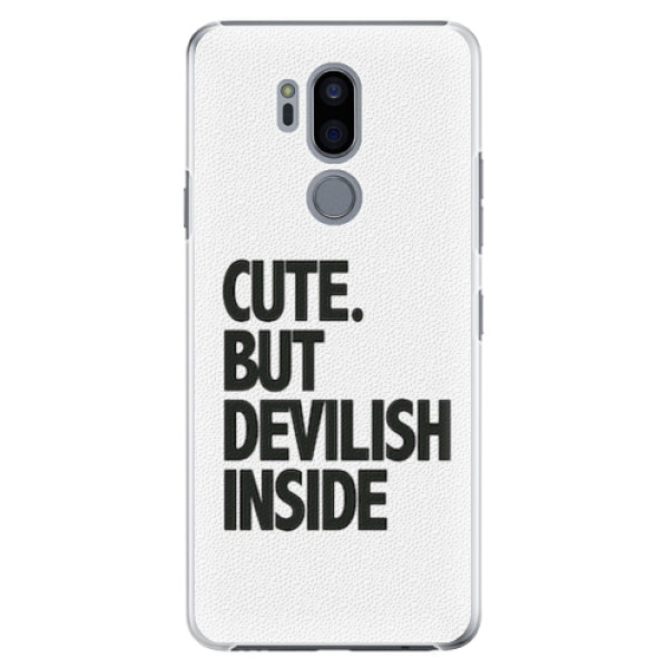 Plastové pouzdro iSaprio - Devilish inside - LG G7