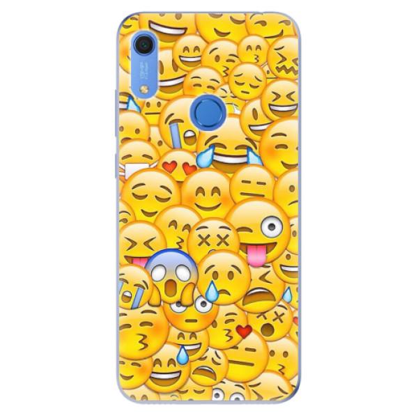 Odolné silikonové pouzdro iSaprio - Emoji - Huawei Y6s