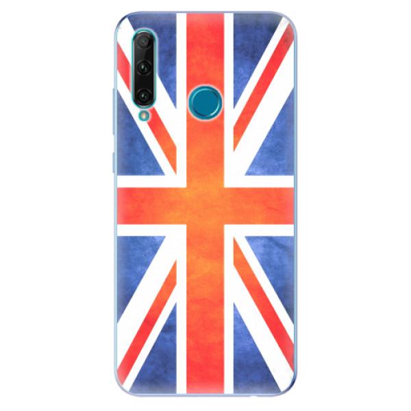 Odolné silikonové pouzdro iSaprio - UK Flag - Honor 20e