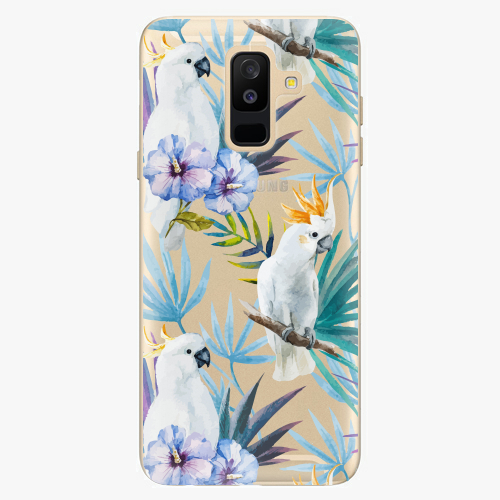 Plastový kryt iSaprio - Parrot Pattern 01 - Samsung Galaxy A6 Plus