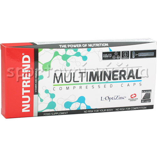 Multimineral Compressed Caps 60 kapslí