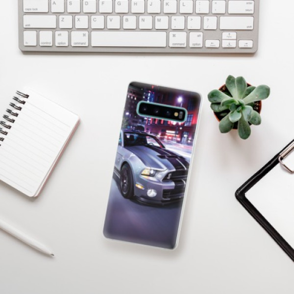 Odolné silikonové pouzdro iSaprio - Mustang - Samsung Galaxy S10