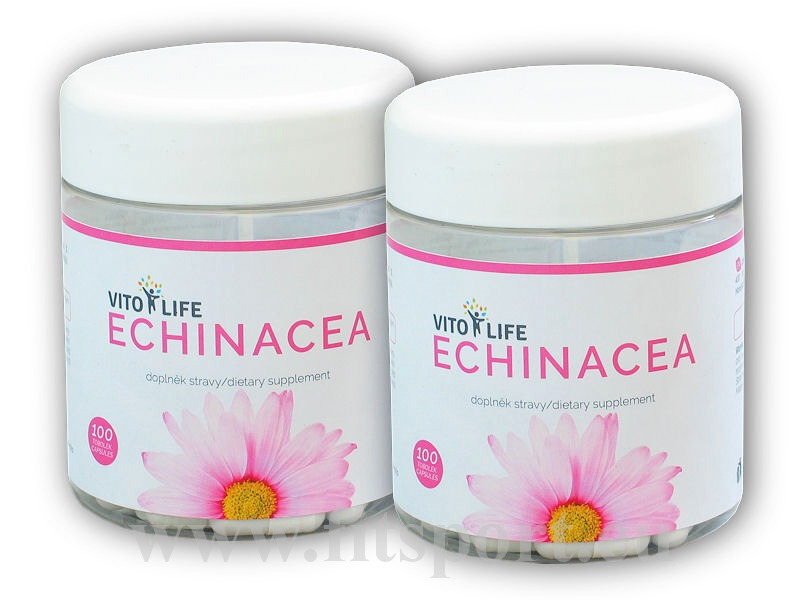 2x Echinacea 100 kapslí