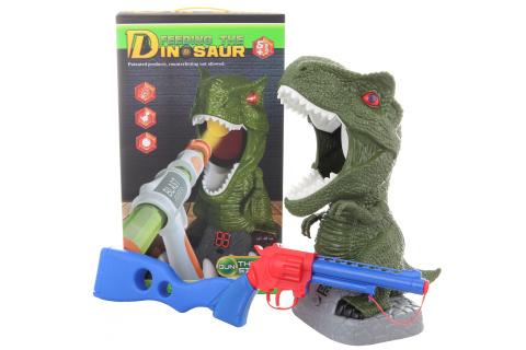 Pistole s počítacím dinosaurem