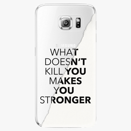 Plastový kryt iSaprio - Makes You Stronger - Samsung Galaxy S6 Edge Plus