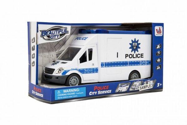 Auto policie plast 28cm na setrvačník na baterie se zvukem