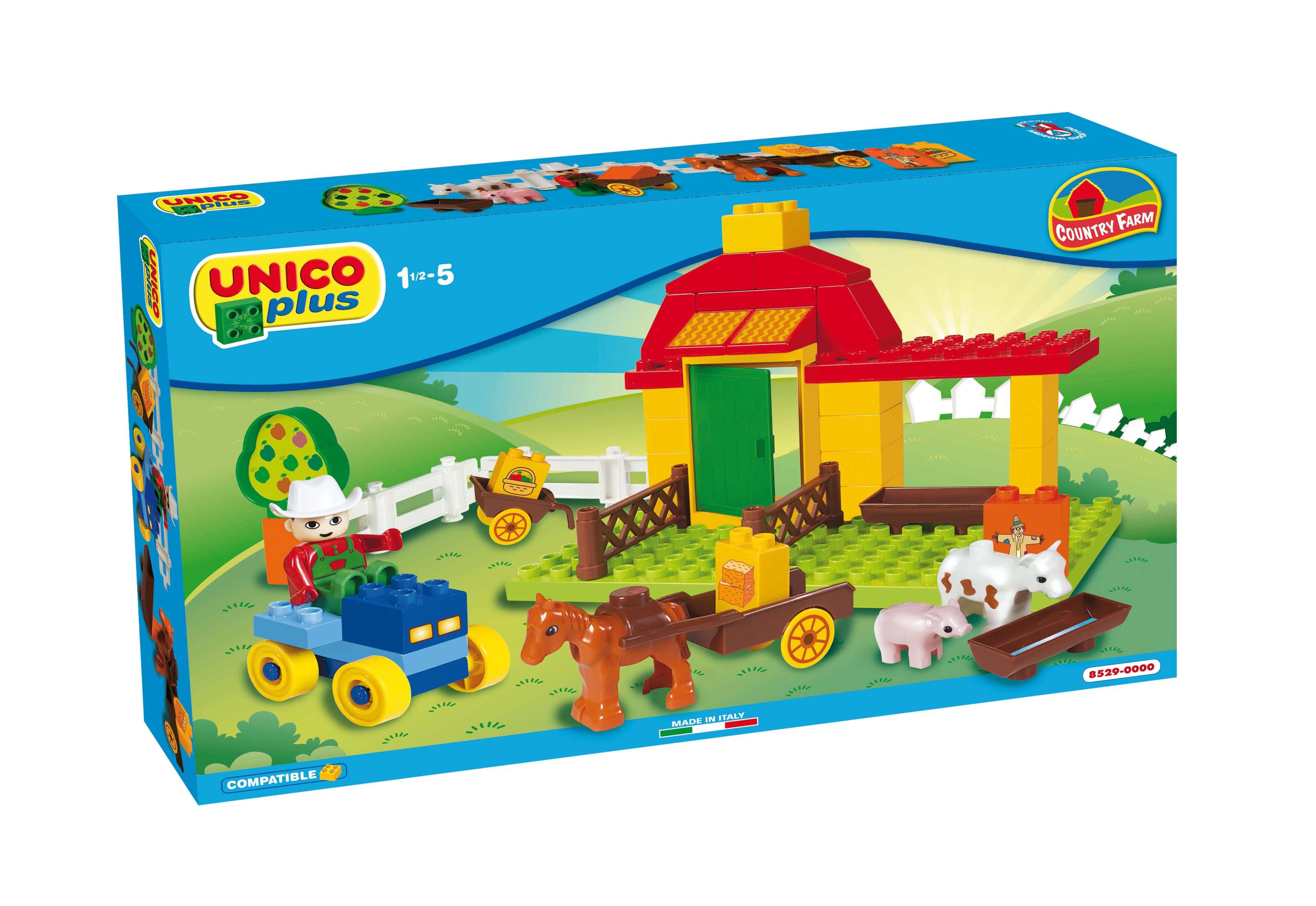 Androni Unico Malá farma 46 dílků