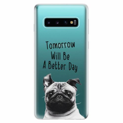 Silikonové pouzdro iSaprio - Better Day 01 - Samsung Galaxy S10
