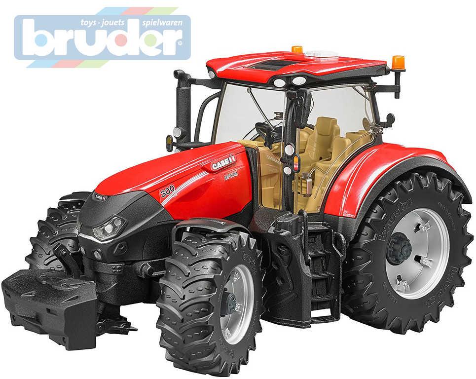 BRUDER 03190 (3190) Traktor CASE IH Optum 300 CVX funkční model 1:16 plast