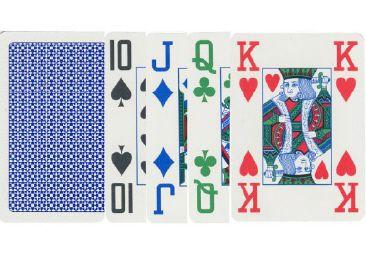 Poker karty Copag čtyřbarevné, 100% plast