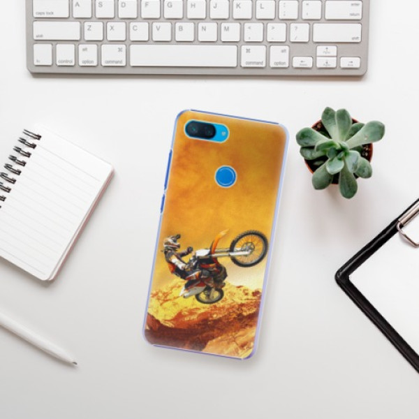 Plastové pouzdro iSaprio - Motocross - Xiaomi Mi 8 Lite