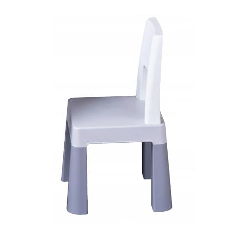 Tega Baby Přídavná židlička pro děti Multifun - šedá