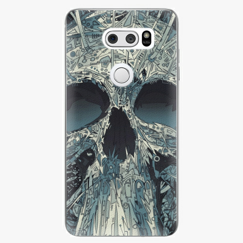 Plastový kryt iSaprio - Abstract Skull - LG V30