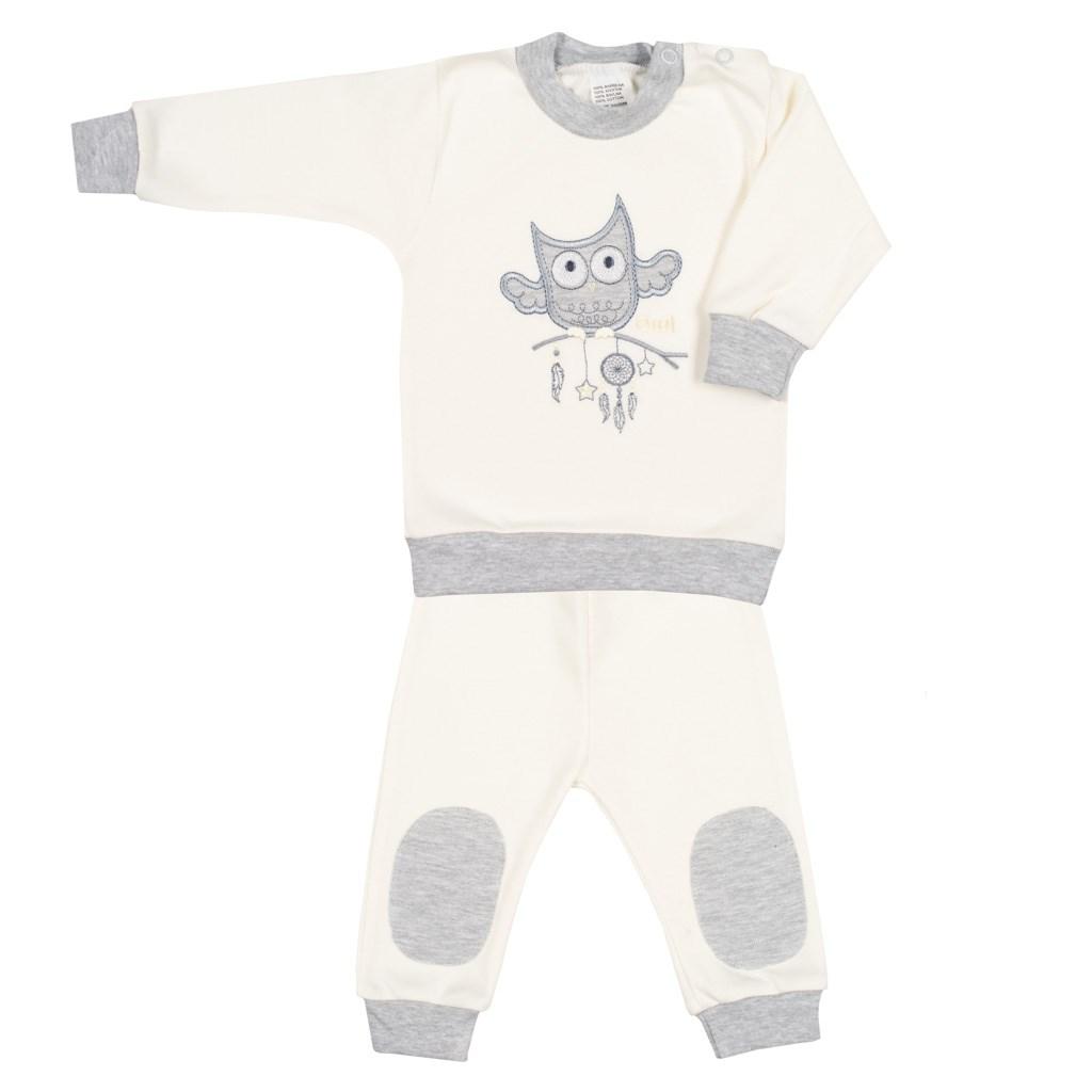 2-dílná kojenecká souprava New Baby Owl