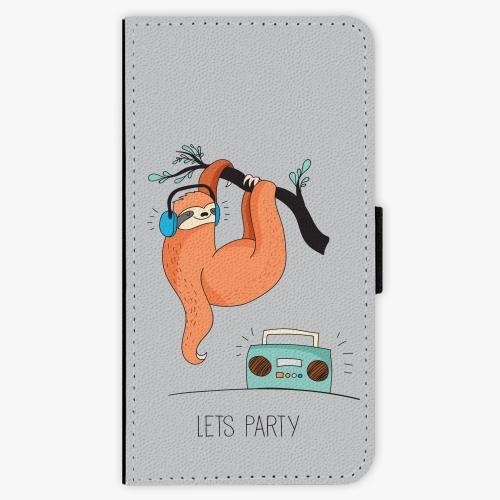 Flipové pouzdro iSaprio - Lets Party 01 - iPhone X