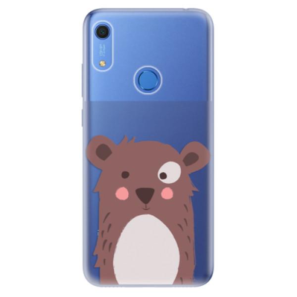 Odolné silikonové pouzdro iSaprio - Brown Bear - Huawei Y6s
