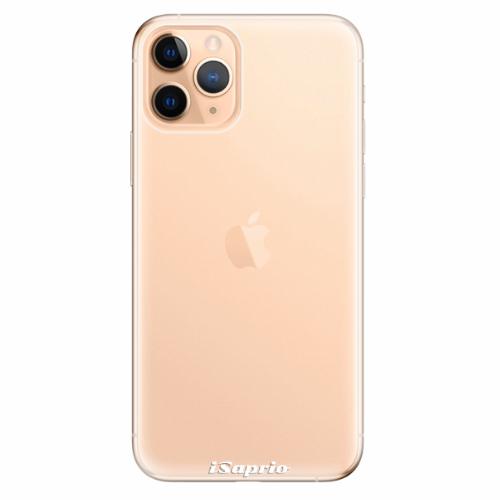 Silikonové pouzdro iSaprio - 4Pure - průhledný matný - iPhone 11 Pro