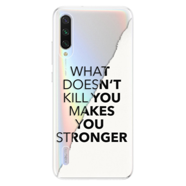 Odolné silikonové pouzdro iSaprio - Makes You Stronger - Xiaomi Mi A3
