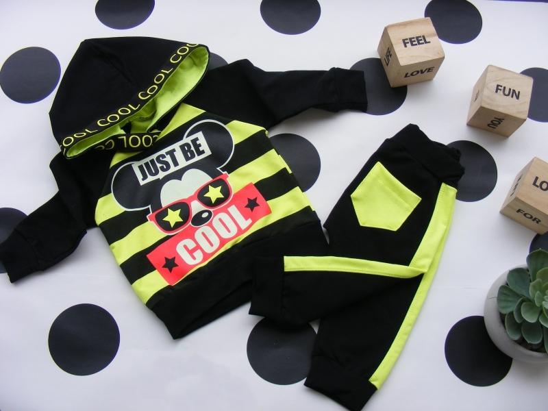 g-baby-stylova-bavlnena-teplakova-souprava-niko-neon-zluta-cerna-vel-98-98-24-36m